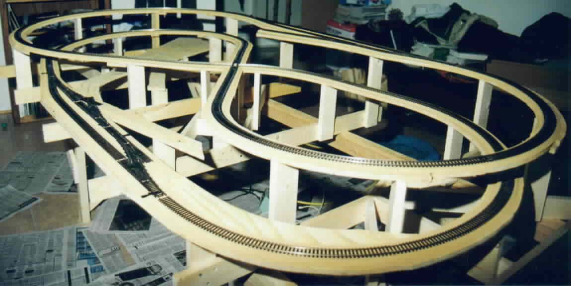 Wooden Toy Train Track Plans